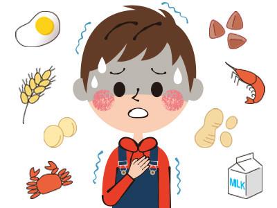 食物アレルギー・アトピー性皮膚炎